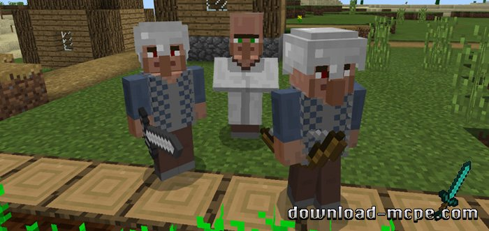 Мод Village Guards 1.1.0